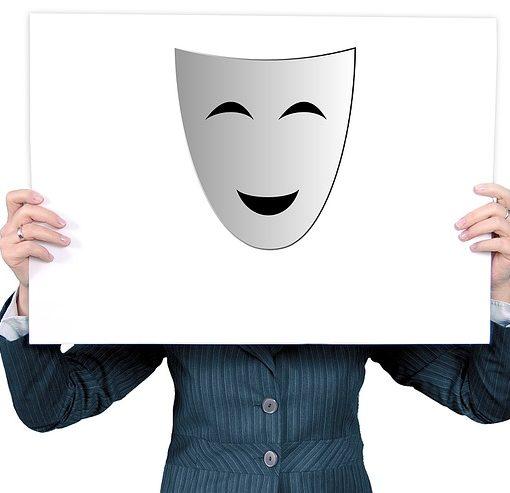 introwertiert Schild Maske Beitragsbild